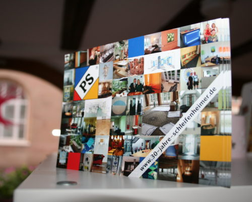 30 Jahre Innenarchitekturbüro Dipl.-Ing. Petra Schleifenheimer: Jubiläumspostkarte und Website