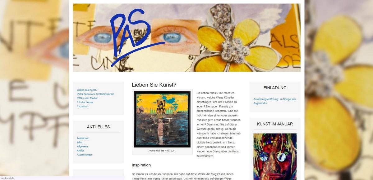 Wieder ist eine neue Website online!