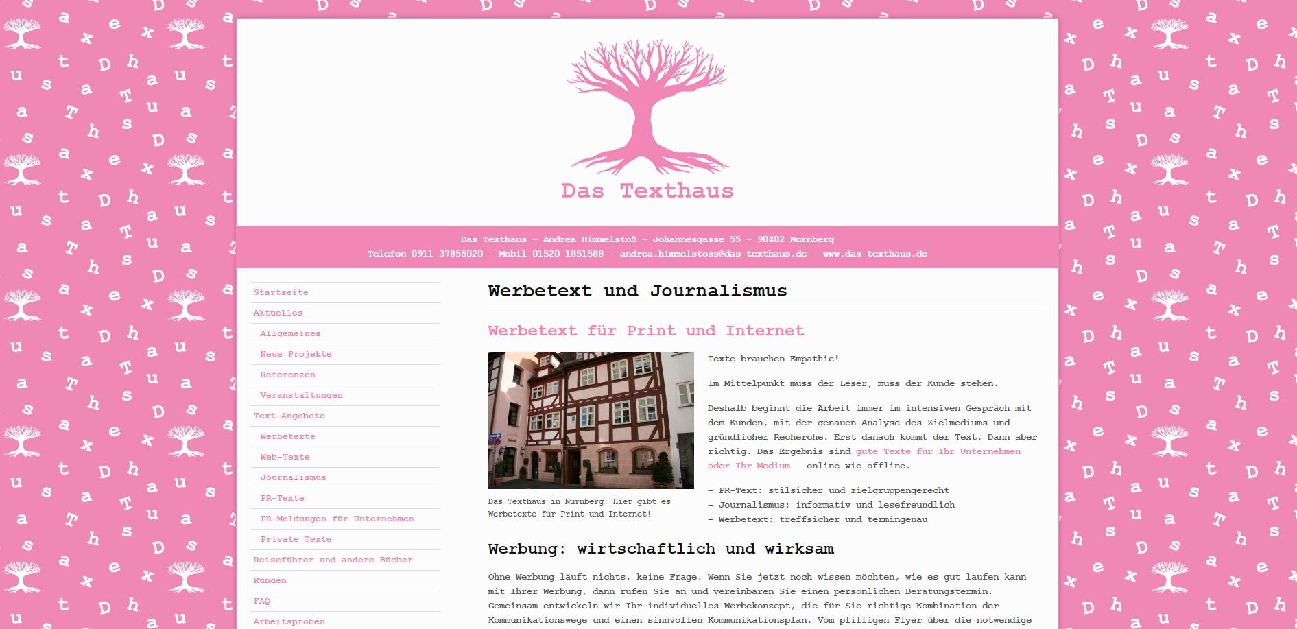 Endlich geschafft, die Website ist im Netz!