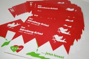 Postkarten werben fürs Buch!