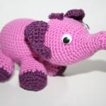 Rosa Elefant als Glücksbote