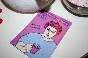 Das Texthaus: Rosa Punsch für Rosa Frauen