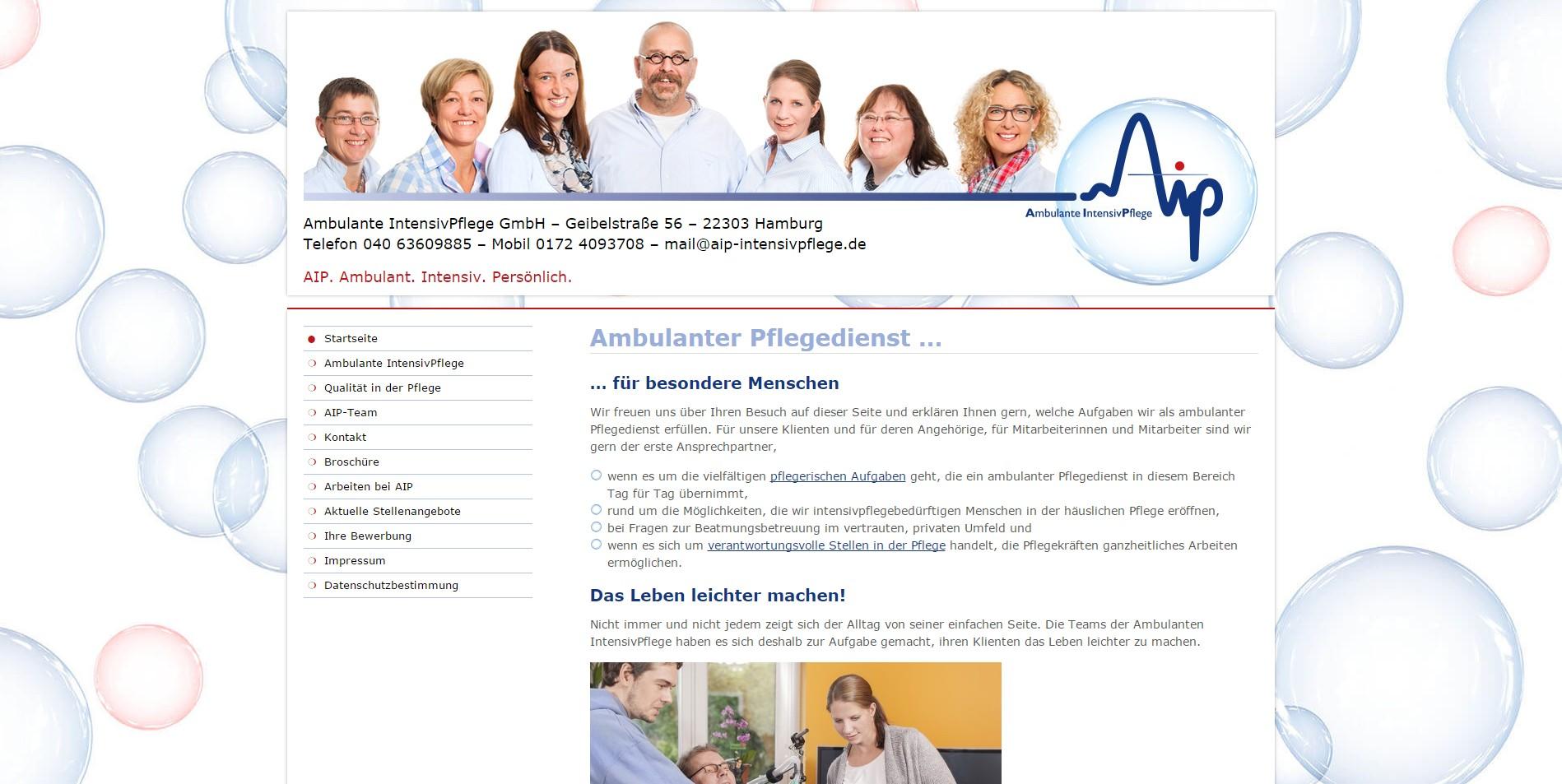 Website-Gestaltung für Unternehmen