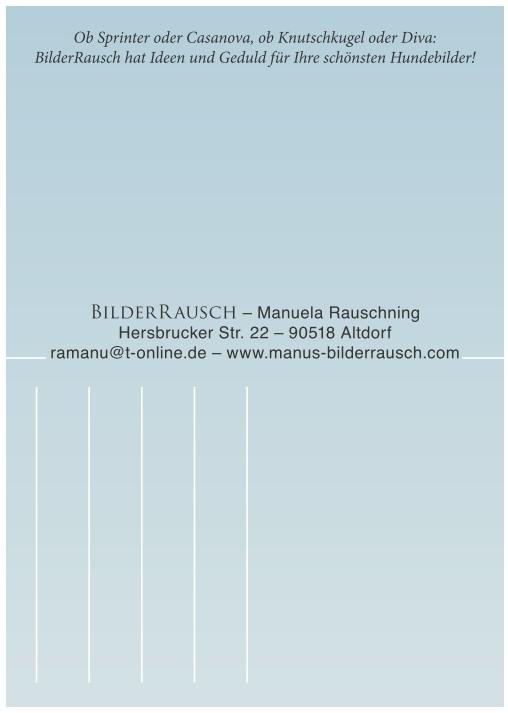 Postkarten: Konzept, Text, Entwurf, Druck