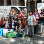 Spendenübergabe des Nürnberger Nadelglücks am 9. Juni 2016