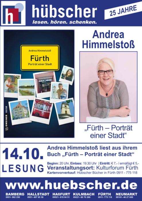 Andrea Himmelstoß stellt ihr neuestes Buch vor