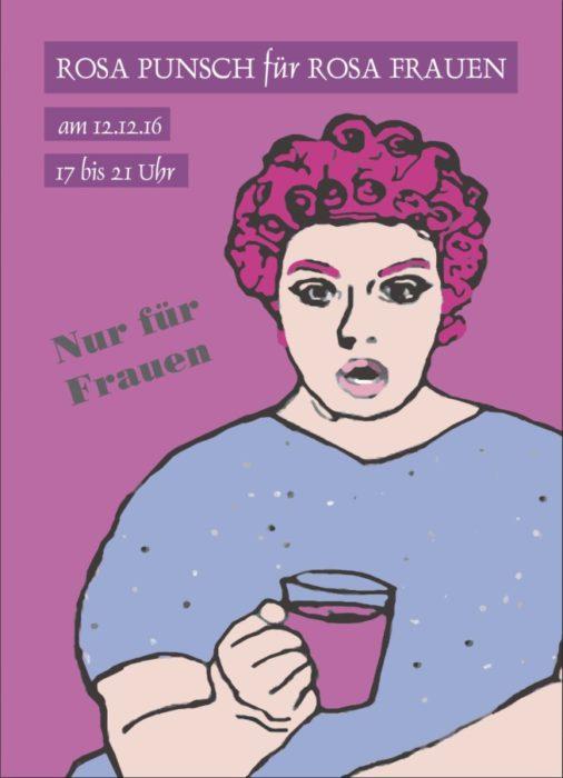 Das Texthaus lädt ein: ROSA PUNSCH für ROSA FRAUEN. Wie immer in der rosa Welt, Johannesgasse 55, Nürnberg
