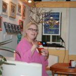 Lesung in Bayreuth: Andrea Himmelstoß liest aus ihrem Buch.