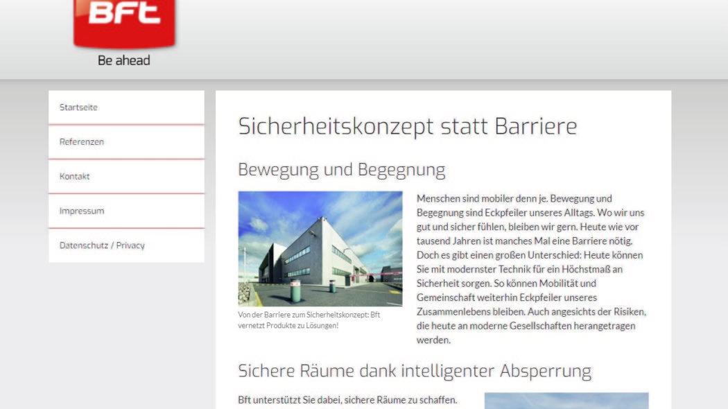 Schnell am Start: neue Website mit klaren Strukturen, flexibel und ausbaufähig