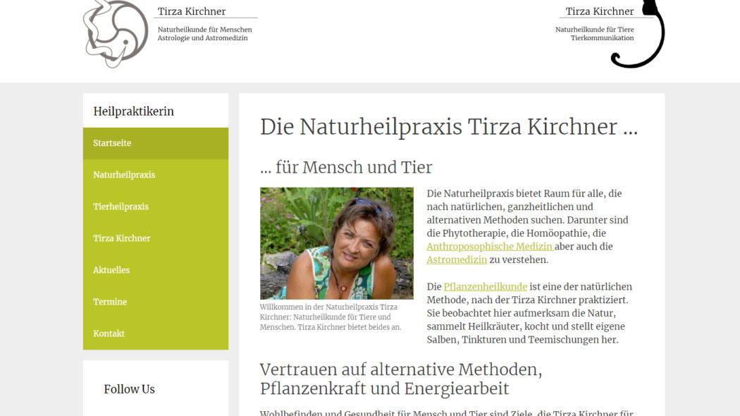 Neue Website für unsere Kundin Tirza Kirchner - Internetseiten günstig erstellen