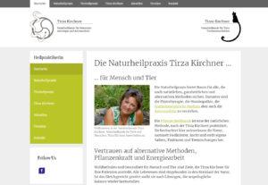 Neue Website für unsere Kundin Tirza Kirchner