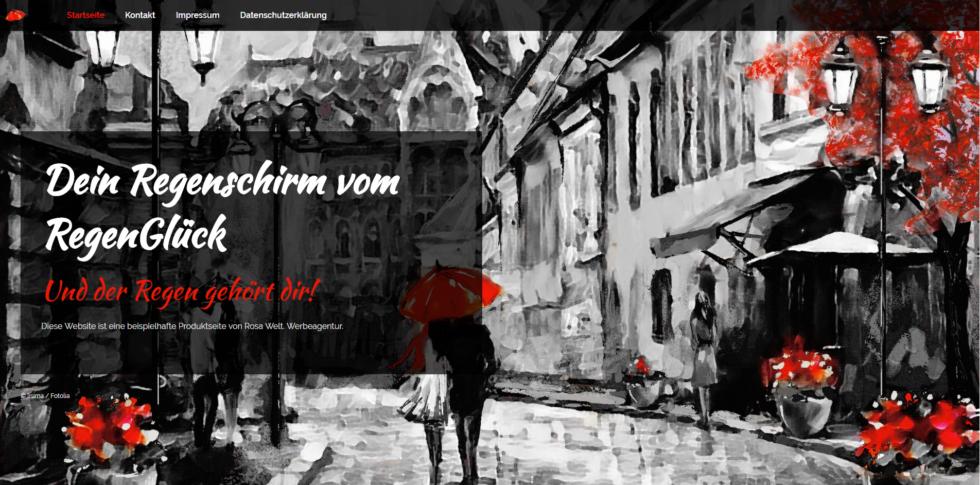 Das Texthaus und Rosa Welt Werbeagentur. Internetseiten günstig erstellen