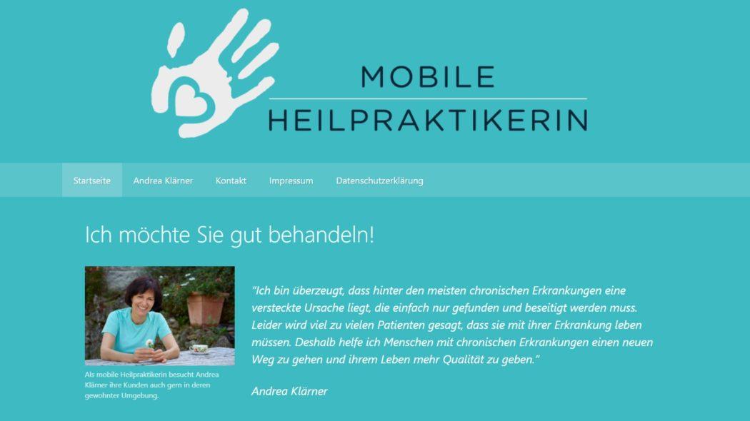 Eine Website sollte flexibel sein.