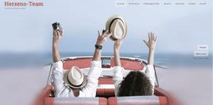 Dynamischer Relaunch der Website des Herzens-Teams von unserer Kundin Christine Kirsch
