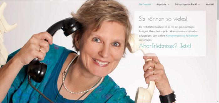 Website-Relaunch für diecoachin.com