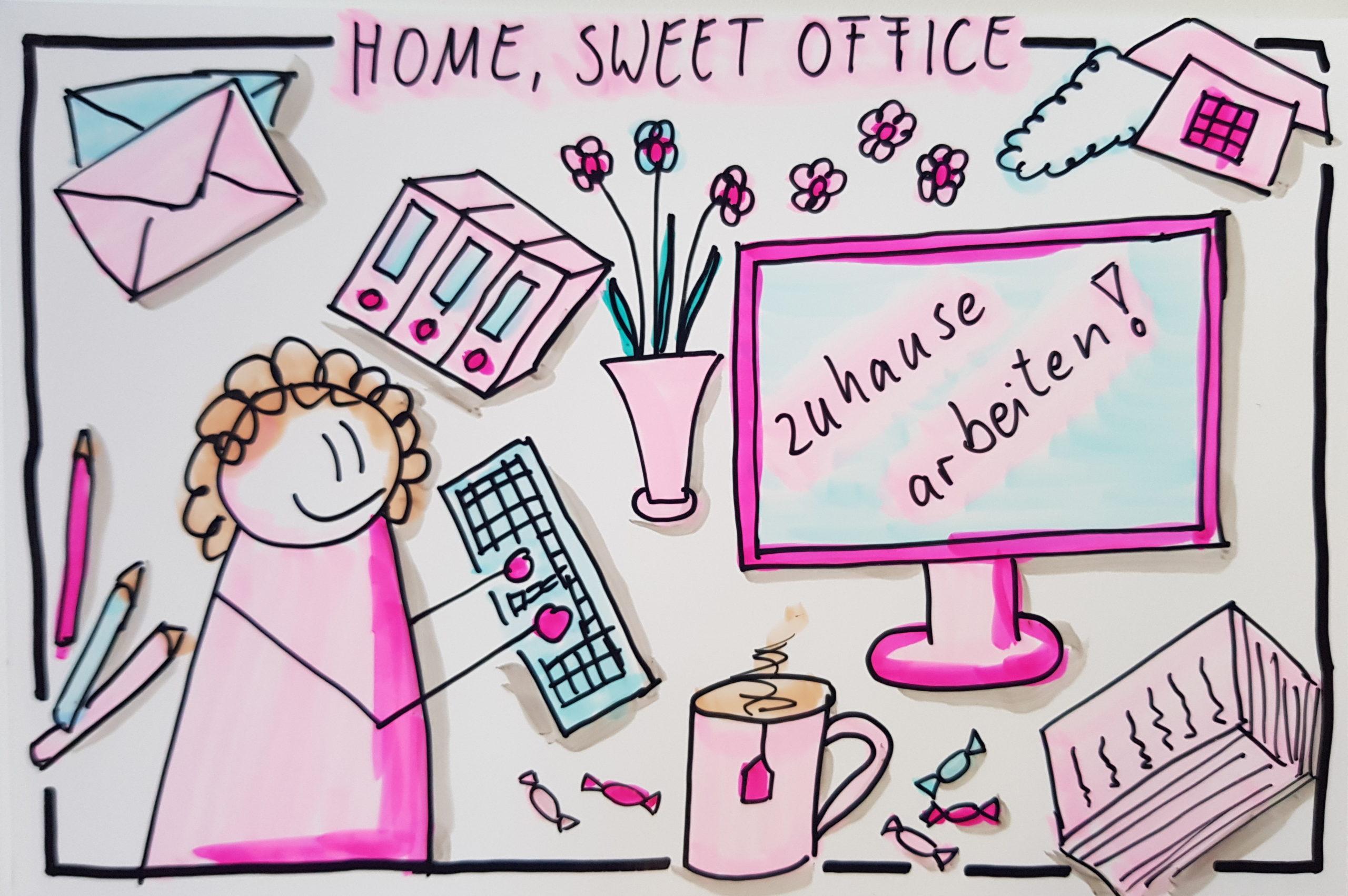 Home-Office: Während der Corona-Krise für viele eine gute Alternative