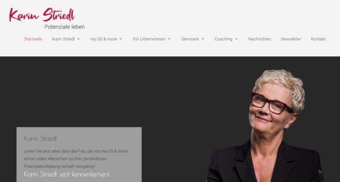 Referenz: Moderne Website