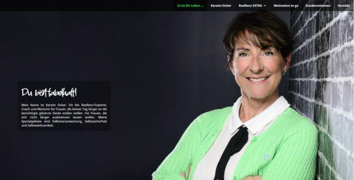 Website Kerstin Eicker