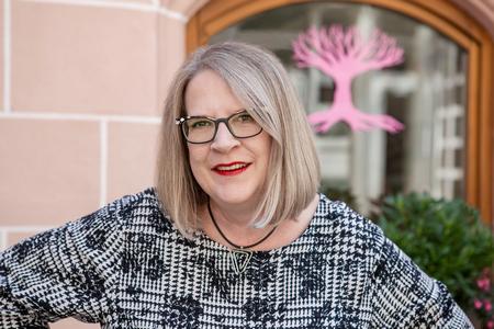 Andrea Himmelstoß – Inhaberin der Werbeagentur Rosa Welt in Nürnberg