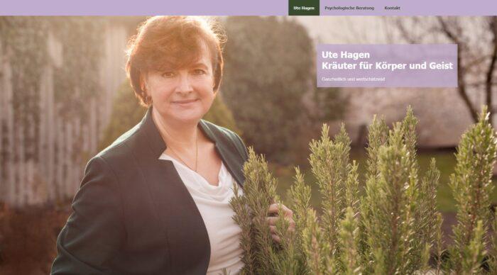Website Ute Hagen